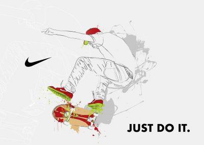 Proyecto de cartel para Nike