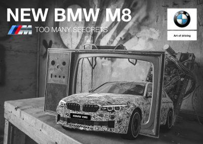 Proyecto de cartel para BMW