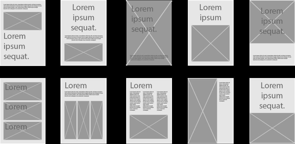 cómo hacer un cartel publicitario estructuras