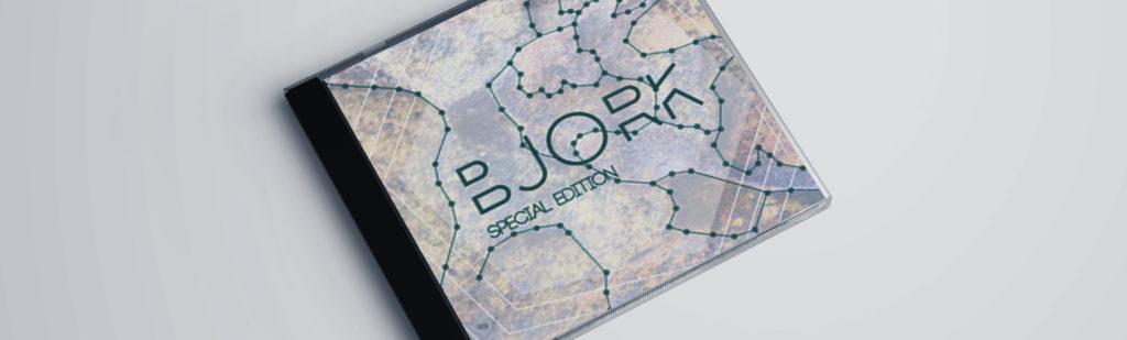 Maqueta de Digipack para Björk