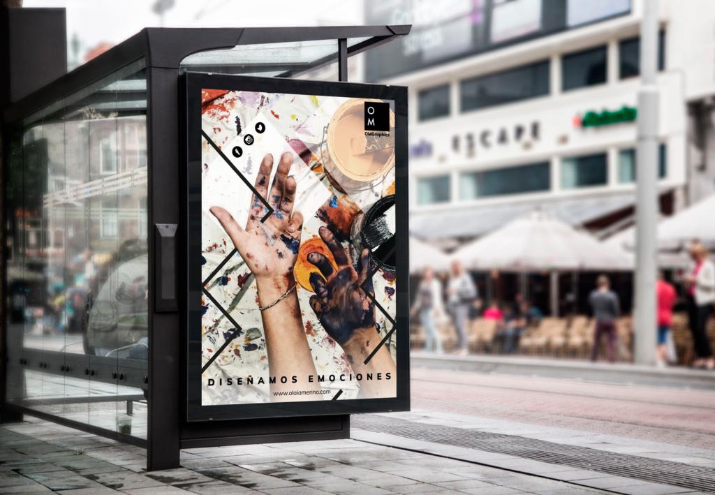 campaña publicitaria multisoporte bus