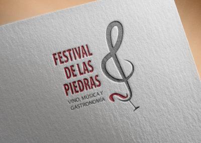 Identidad corporativa Festival de las Piedras