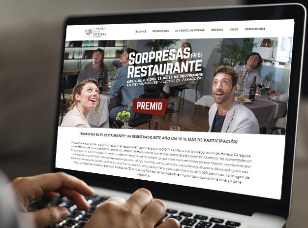 Web Sorpresas en el Restaurante